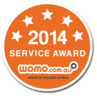 Our latest Customer Service Award